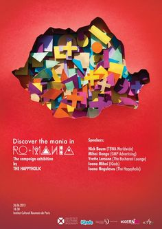 Discover the mania in RO+MANIA by The Happyholic, via Behance - campanie romania Advertising Agency, Campaign, Behance, Graphic Design, Projects, Posters, Inspiration, Viajes, Log Projects