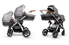 Looking for a twin pram for newborn twins? We take a look at the best twin prams that take two carrycots and can be used by twins from birth. Newborn Baby Tips, Newborn Twins, Twin Babies, Baby Twins, Black Babies, Best Twin Strollers, Double Strollers, Umbrella Stroller, Pram Stroller