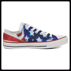 e6101f974a49d Converse All Star men s hand printed Italian style Slim flag Stars and  Stripes size 39 EU 6 US M