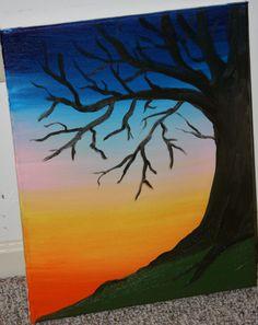 """""""Dusk"""" oils on canvas 16"""" x 20"""""""