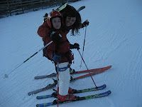 Just two years and begin skiing thanks to mountain ski skills!!