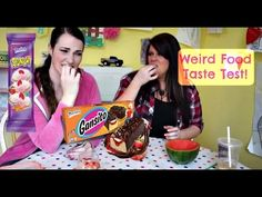 Weird Food Taste Test | MamaKatTV