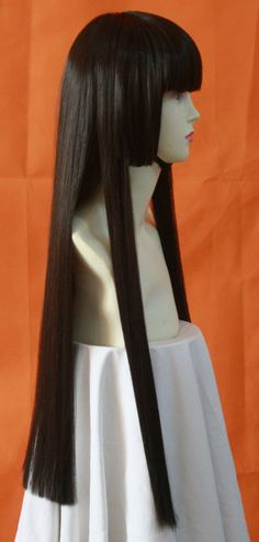 cosplay wigs  perfect for sango from inuyasha
