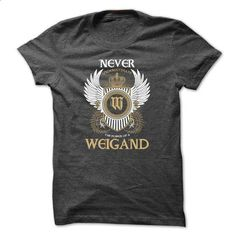WEIGAND Never Underestimate - #football shirt #tshirt frases. MORE INFO => https://www.sunfrog.com/Names/WEIGAND-Never-Underestimate-euyovbqksq.html?68278