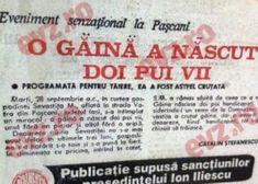 România în 1997 - Cronica 30 Scandal, Event Ticket