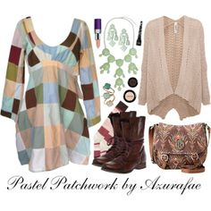Crafty Lady Abby - OUTFIT: Pastel Patchwork
