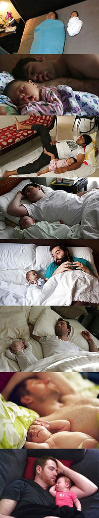 Babies and dads sleeping: Genetics