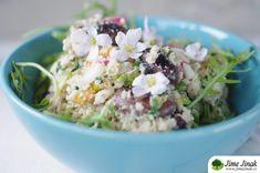 Návod, jak seskládat kompletní zdravý talíř Potato Salad, Grains, Rice, Potatoes, Lunches, Ethnic Recipes, Food, Potato, Eat Lunch