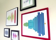 This Company Turns Your Favorite Sound or Song into Colorful Wall Art | Brit + Co