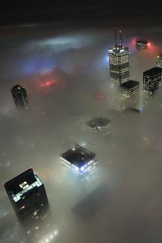 Bajo la niebla ...