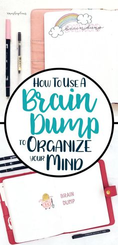 Learn how a brain dump can declutter the craziness in your mind This helpful writing tool will help you remember things you forget release frustration you store inside an. Brain Dump Bullet Journal, Bullet Journal 2019, Bullet Journal Junkies, Bullet Journal Spread, Bullet Journal Layout, Bullet Journal Inspiration, Bullet Journal For Adhd, Journal Ideas, Journal Prompts