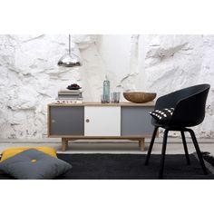 Moodi 130 tv cabinet, warm grey – Zweed #interior #design #scandinavian