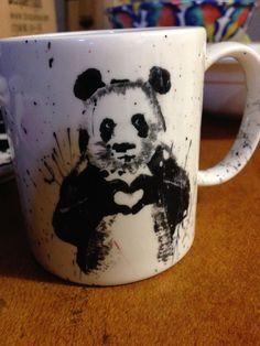 Panda Grafitti mug, made from an image by Balazs Solti  https://www.facebook.com/balazs.solti.art