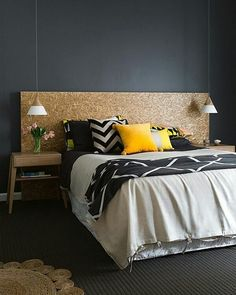 10 Perfect Bedroom Interior Design Color Schemes Design Build Ideas -- Like this color combination! Home Bedroom, Bedroom Decor, Teen Bedroom, Decor Room, Bedroom Inspo, Wall Decor, Bedroom Ideas Grey, Bedroom Linens, Best Bedroom Colors