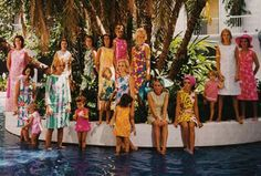 Brightness.  Abounds.  the adventures of tartanscot™: Lilly Pulitzer, 1931 - 2013 . . .