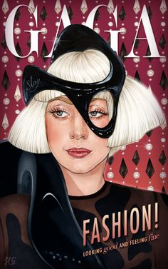 Lady Gaga ArtRave Fashion by Helen Green