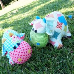 Moo Moo - by Melly & Me - Cow Softy Pattern
