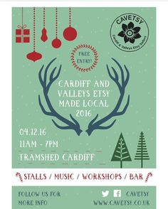 Lots of information about #EtsyMadeLocal in @tramshedcardiff on 4th December 2016 on the #cavetsy website. Including a list of who's going to be there! Clicky link in profile... http://ift.tt/2fDSmLR #etsyseller #uketsyseller #cardiff #madeinwales