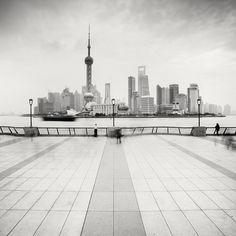 Shanghai Skyline by xMEGALOPOLISx.deviantart.com on @deviantART
