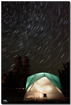 A night under the stars