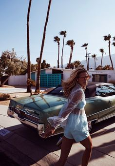 Kate Bock for Grazia Summer 2018 Fashion Editorial with Steven Chee Shot in Palm Springs, California Summer Fashion Trends, New Fashion, Fashion 2018, Young Fashion, Petite Fashion, Cheap Fashion, Unique Fashion, Street Fashion, Luxury Fashion