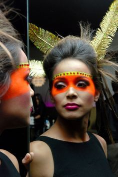 Female Tribal Face Paint Tumblr Tribal face paint ideas