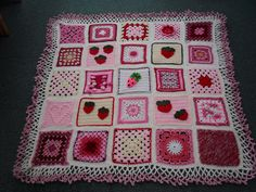 Ta - Dah! SIBOL No. 44 '4/4' 'Strawberry and Cream' Challenge. Please 'add note' Ladies. 'Strawberry Fields' Thanks Mandas' Challenges....> by MRS TWINS, via Flickr