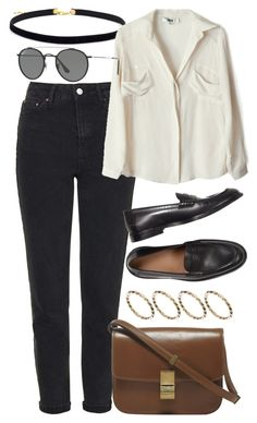 """Untitled #6122"" by rachellouisewilliamson on Polyvore featuring Topshop, To Be Adored, ASOS and Ray-Ban"