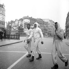 Remember That Time Ali Trained On London's Streets