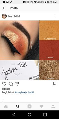 Jacklyn hill palette - Eye Makeup eye makeup using jaclyn hill palette Makeup Eye Looks, Mac Makeup, Pretty Makeup, Love Makeup, Skin Makeup, Makeup Inspo, Eyeshadow Makeup, Makeup Inspiration, Makeup Goals