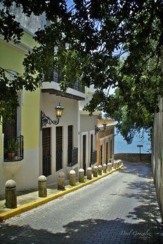 """""""Old San Juan"""" by Doel Gonzalez.....Puerto Rico"""