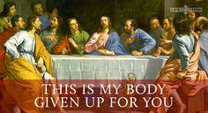 Agnus Dei, Lamb of God - Catholic Mass Hymns Faith Of Our Fathers, Faith In God, Holy Thursday Catholic, Universal Life Church, Catholic Sacraments, Lords Supper, Gospel Of Luke, Catholic Mass, Gods Glory