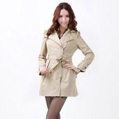 O.SA Diagonal-Zip Belted Coat PRICE  $82.00  #outwear #fashion #women