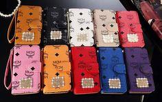 韓国 MCM iphone7 Galaxy S6/S6 EDGEケース カバー 手帳型 iPhone6s/6 plusケース iphoneSE 革ケース