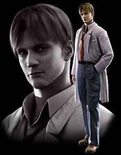 William Birkin from Resident Evil 2!
