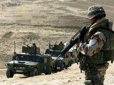 Spanish soldier in Afganistan