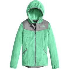 Your little girl's burgeoning sense of style is becoming more defined every season. As warm as it is stylish, The North Face's Oso Hooded Fleece Jacket is a piece of fall outerwear that you can both feel good about. It insulates while outside waiting for the bus on chilly mornings but still earns style cred in the hallways.