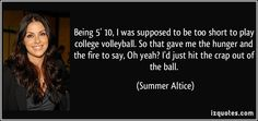quotes about volleyball - Google Search
