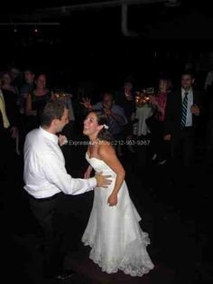 "The Bride and Groom also did not leave the dance floor right from their first dance (""The Luckiest"" by Ben Folds)on."