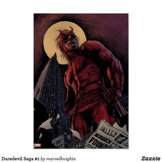 Daredevil Saga Bright and cool Marvel Daredevil superhero designs to personalize as a gift for yourself, friends and families. Perfect unique gifts for your all birthdays needs. Saga Comic, Marvel Canvas, Painting Prints, Canvas Prints, Paintings, Comic Poster, Superhero Design, Personalised Canvas, Panel Wall Art
