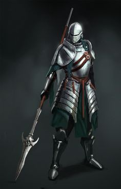 Another example of the equipment of a Majiski high paladin from the old Ioan Commonwealth