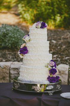 Rose Decorated Cake
