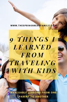 Things I Learned From Traveling Overseas With Kids The - This Is A List Of Things I Learned From Traveling Overseas With Kids Weve Traveled Pretty Extensively With Our Kids And Learned So Many Lessons Along The Way Thats Why We Thought We Shou Best Family Vacations, Family Destinations, Family Cruise, Family Trips, Toddler Travel, Travel With Kids, Travel Advice, Travel Tips, Solo Travel