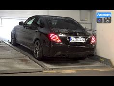 2015 Mercedes-AMG C63 S (510hp) - pure SOUND - YouTube