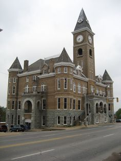 Washington County Courthouse, Fayetteville, Arkansas.  Fayetteville is the third-largest city in Arkansas and county seat of Washington County. The city is centrally located within the county and has been home of the University of Arkansas since the institution's founding in 1871.