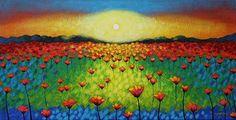 John Nolan's Twilight Poppies