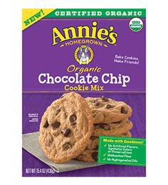 Organic Chocolate Chip Cookie Mix - Annie's Homegrown