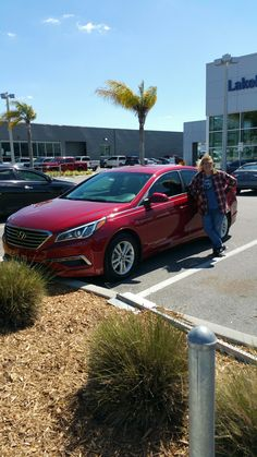 """Charlee Carr is a repeat customer who walked into Lakeland Hyundai and walked out with a brand new 2016 Hyundai Sonata with the help of salesman Johnny Betts! """"John was great and consistent!"""" Thank you, Mr. Carr we appreciate your business! Before leaving Mr. Carr also left us an """"Exceptional"""" review. We hope that you are enjoying your new Hyundai Sonata and please; if there is anything we can do, don't hesitate to ask…We are here to help! #LakelandAutomall #LakelandHyundai #HyundaiSonata"""