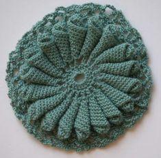 Sarah Simmons | Crochet Coral Reef, crochet radiolarian