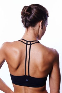Women's New Yoga Tops | Yoga Sport Bras | Fitness apparel | exercise workout gear http://www.FitnessGirlApparel.com